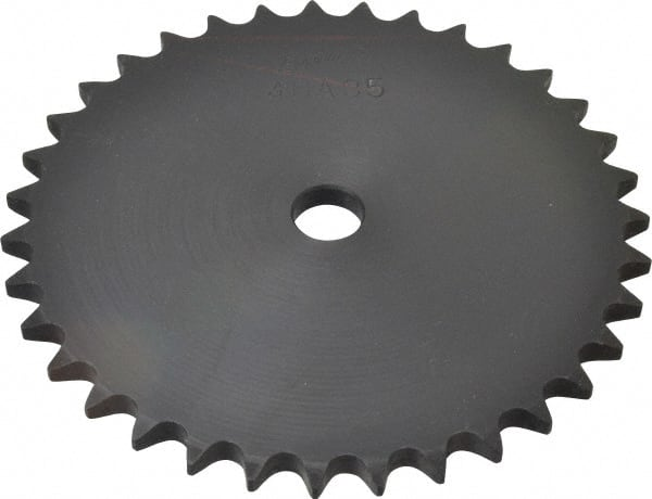 40A20,20 Tooth A Plate Sprocket for #40 Roller Chain 5//8 BORE
