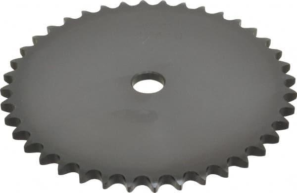 40A12H-SB A-Plate Sprocket w//.5 Pitch