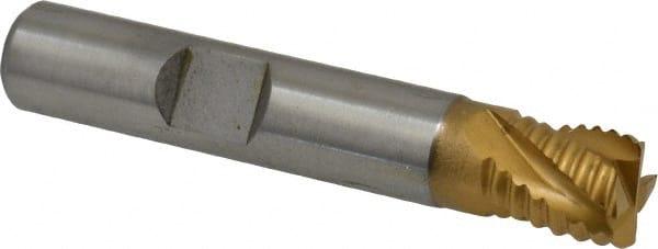 OSG4300500 5//8 Roughing Cut Cobalt HSS End Mill 1-5//8 LOC 3-Flute PART NO Bright Finish 3-3//4 OAL OSG Series 430