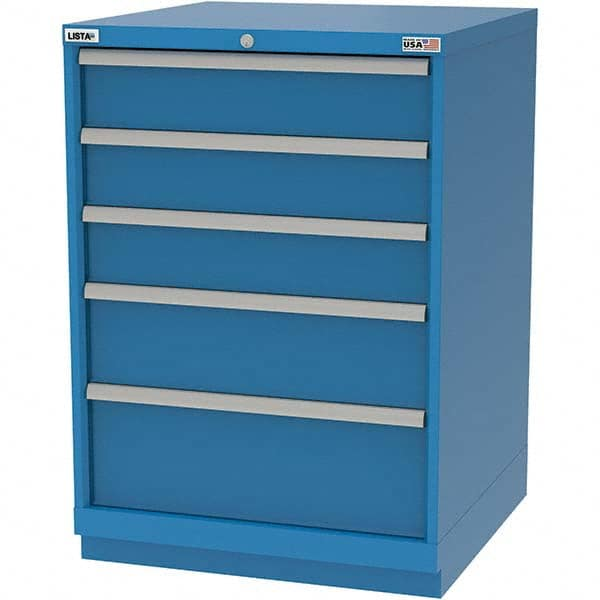 Lista 5 Drawer Modular Storage Cabinet   28 1/4 Inch Wide X 28
