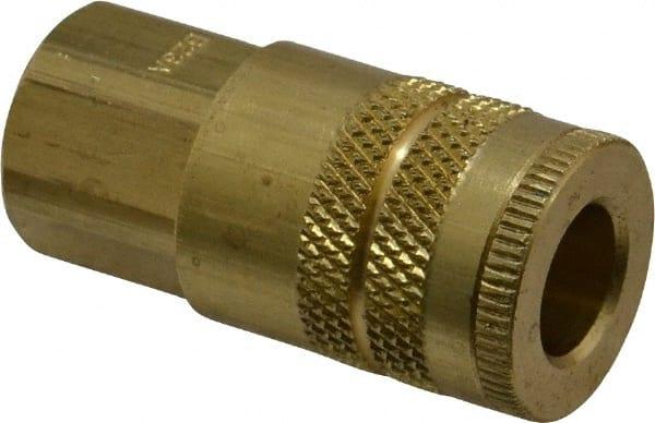 1//8-27 Brass Body Coupler Body 1//8 in