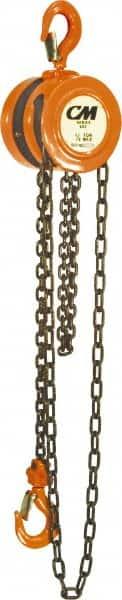 Cm 1 000 Lb Capacity 20 Lift Height Chain Manual Hoist 97290274 Msc Industrial Supply