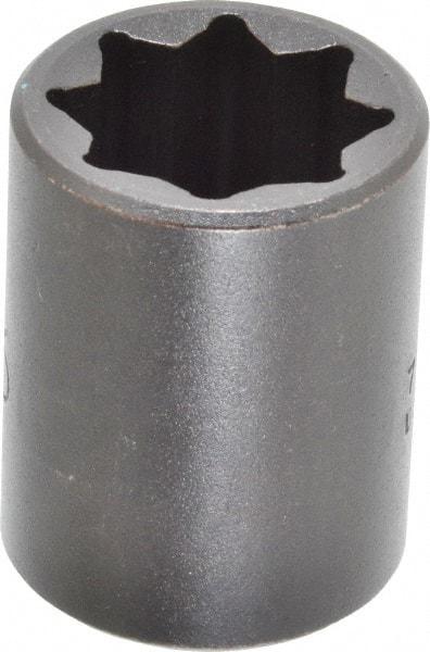 PROTO Alloy Steel Impact Socket,1//2 In Dr,1//2 In,8 pt J7416S