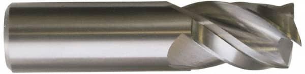 6-Flute 1 Cutting Dia HSS-Cobalt WIDIA Hanita 341725008 High Performance 3417 HP Finishing End Mill RH Cut 1 Shank Dia Weldon Shank Uncoated