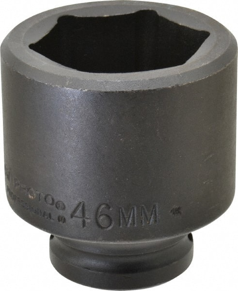 6 1-1//4-Inch Stanley Proto J7340HT 1//2-Inch Drive Thin Wall Deep Impact Socket