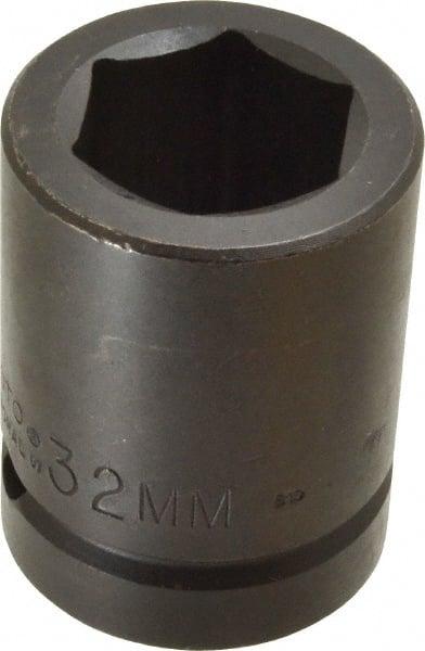 "SK HAND TOOL 1//2/"" Dr STD Impact Socket Impact 32mm 34082"