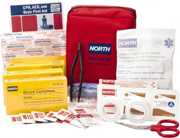 no image available north 61pc small redicare north firstaid kit