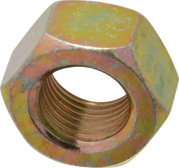 9 16 18 UNF Thread Grade 8 Steel Right Hand Hex Nut