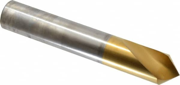 Spotting Drill Bit Carbide Bright 1//2 Uncoated 142/°