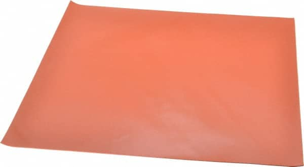 """High Temp FDA 12/"""" x 12/"""" Red Silicone Rubber Sheet 1//32/"""" thick 65 durometer"""