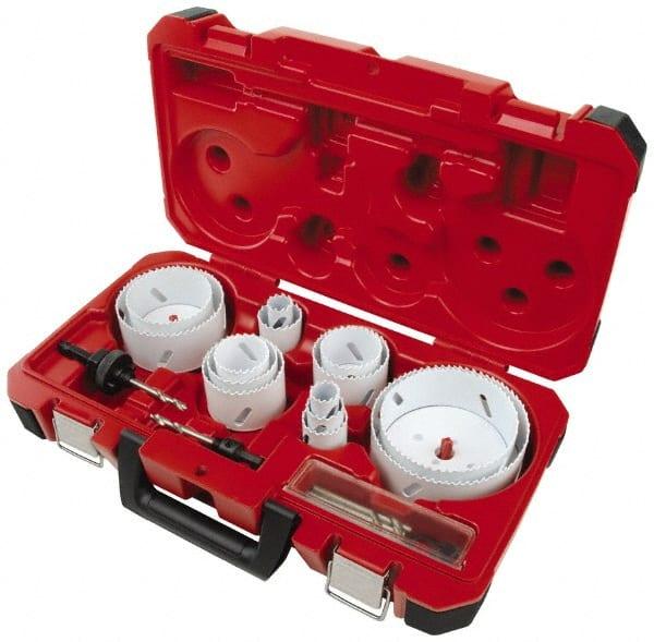 Milwaukee Tool 19 Piece 3 4 To 4 3 4 Saw Diam Master Electrician S Hole Saw Kit 86041258 Msc Industrial Supply