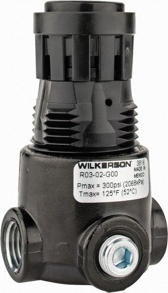 Wilkerson 125 Psi Regulator Mscdirect Com