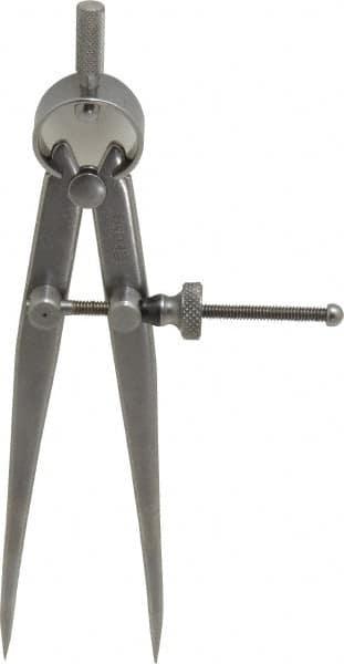 Starrett 9 Inch Leg Steel Divider 12 Inch Max Measu... Spring Joint Polished