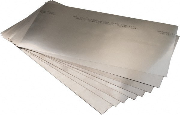 0.5mm Metric Roll Shim Stock 150mm Precision Brand 22978 Stainless Steel 1.25m