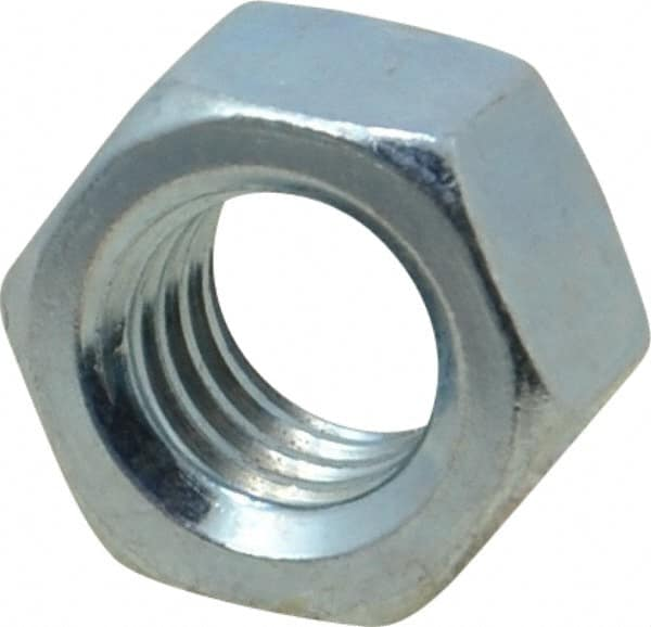 3//8-16 UNC USA Made Hex Finished Nuts Grade 5 Zinc Qty-100