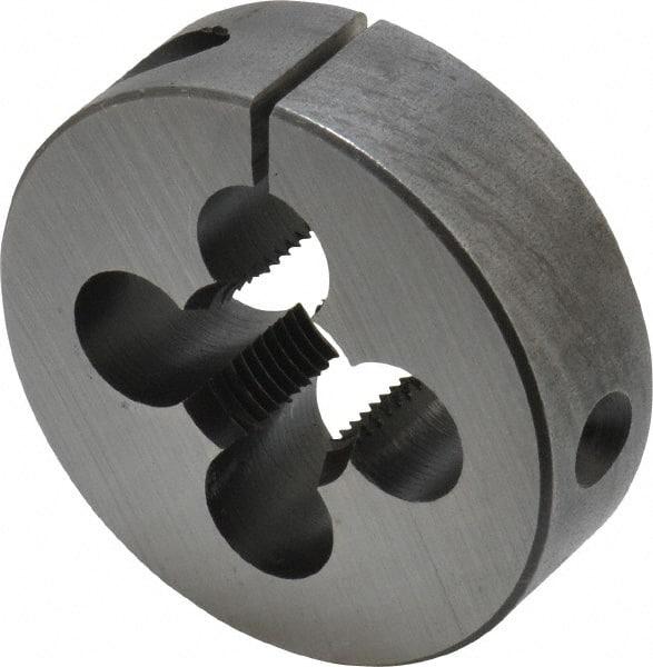 Cle-Line C65743 HSS Round Adjustable Die 10-24 UNC