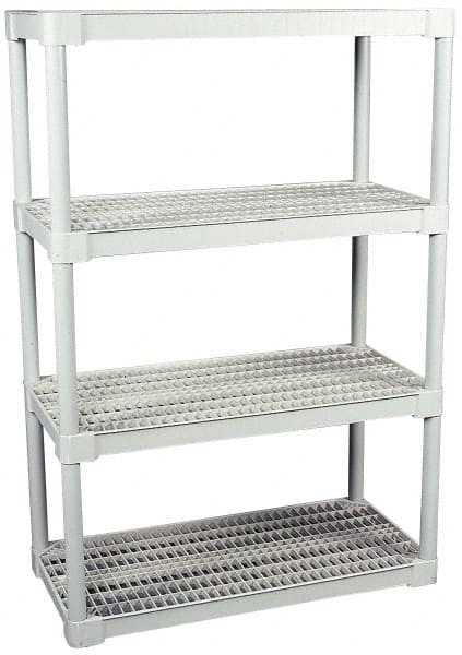 open shelving units 4 shelf ventilated structural plastic open 89513477 msc 24071