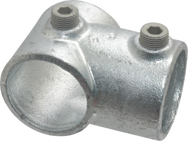Malleable Iron Pipe Rail Fitting 1-1//4 Inch Pipe Side Outlet Elbow Kee 10 Pack