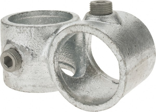 PRO-SAFE 1-1//2 Inch Pipe 90/° Side Outlet Elbow 5 Pack Malleable Iron Pipe Rail Fitting