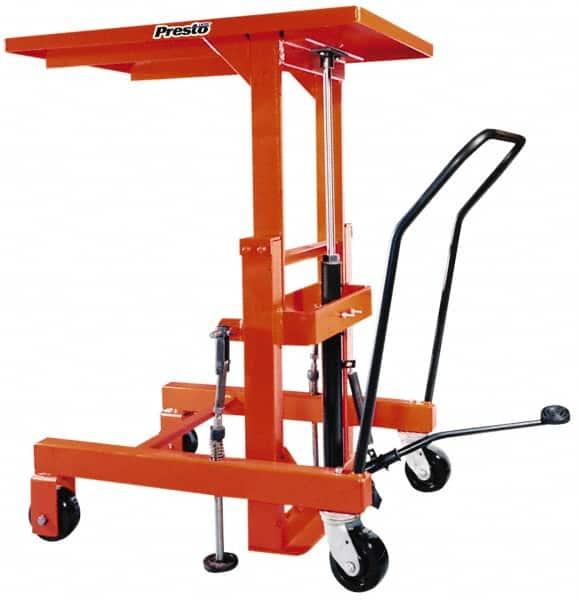 Presto Lifts 2 000 Lb Capacity Hydraulic Lift Table 89821789 Msc Industrial Supply
