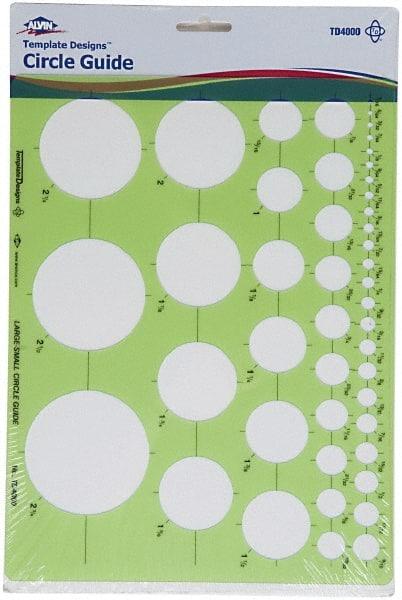 drafting templates type circle guide 89900021 msc
