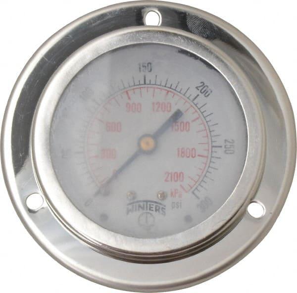 2 Pieces Gauge 0-300 psi