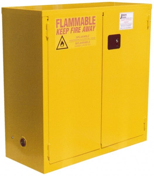 Jamco 30ga 2dr Self Close Safety Storage Cabinets BS30