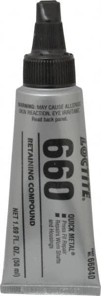 Loctite - 50 mL Tube, Silver, High Strength Paste Retaining