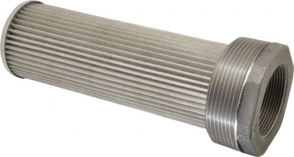 30 Mesh Size 50 GPM 2 Female NPT P50 2 30 Suction Strainer with Nylon Connector End Inc Flow Ezy Filters