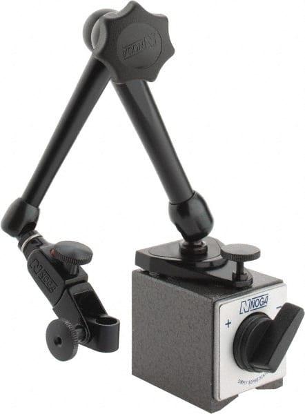 Hydraulic Arm With Magnetic Base Indicator : Arm holder noga magnetic indicator bases mscdirect
