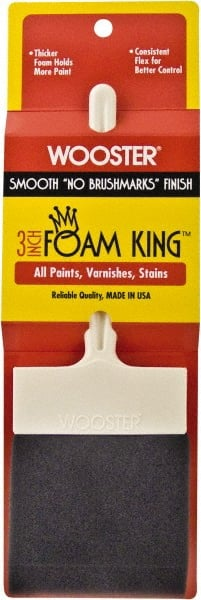 Wooster Brush 3103-3 Foam King Paintbrush 3-Inch 3 Inch