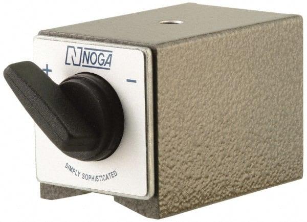 "Noga PH2040 Fine Adjust Magnetic Base 7.28/"" x 8/""-180 Lbs Hold"