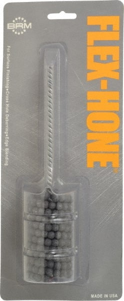 Pack of 1 Silicon Carbide 14mm Diameter 180 Grit Brush Research CH-B Medium Chamfer Flex-Hone