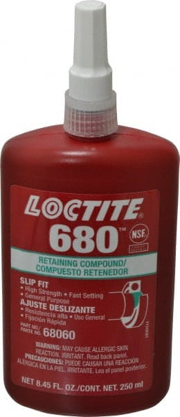 Loctite 250 Ml Bottle Green High Strength Liquid Retaining Compound 97979868 Msc Industrial Supply