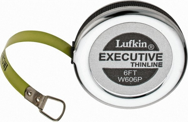 Lufkin 1 16 Inch Graduation 6 Ft Measurement Steel Diameter Tape Measure MSC Industrial Supply