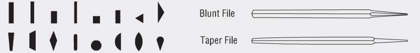 Blunt File Taper File