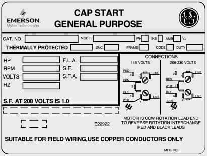 Cap Start General Purpose